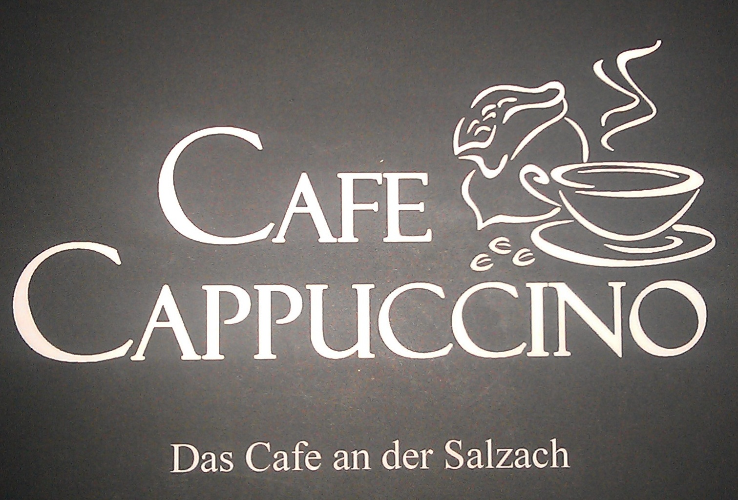 Cafe Cappucino - Smart-Order Lokaltext